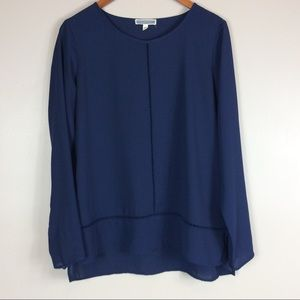 Pleione  Long Sleeve Blouse Size Medium